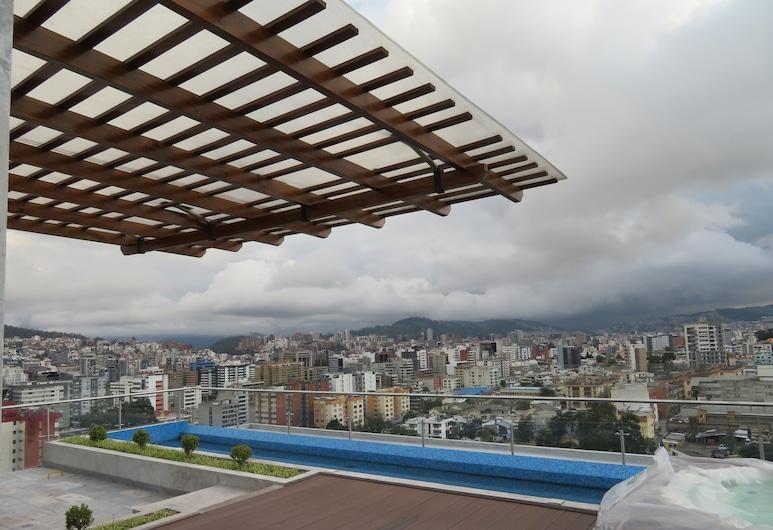 Suite and Apartment Well Located In Quito, Quito, Dizajnový apartmán, 2 spálne, nefajčiarska izba, kuchyňa, Terasa