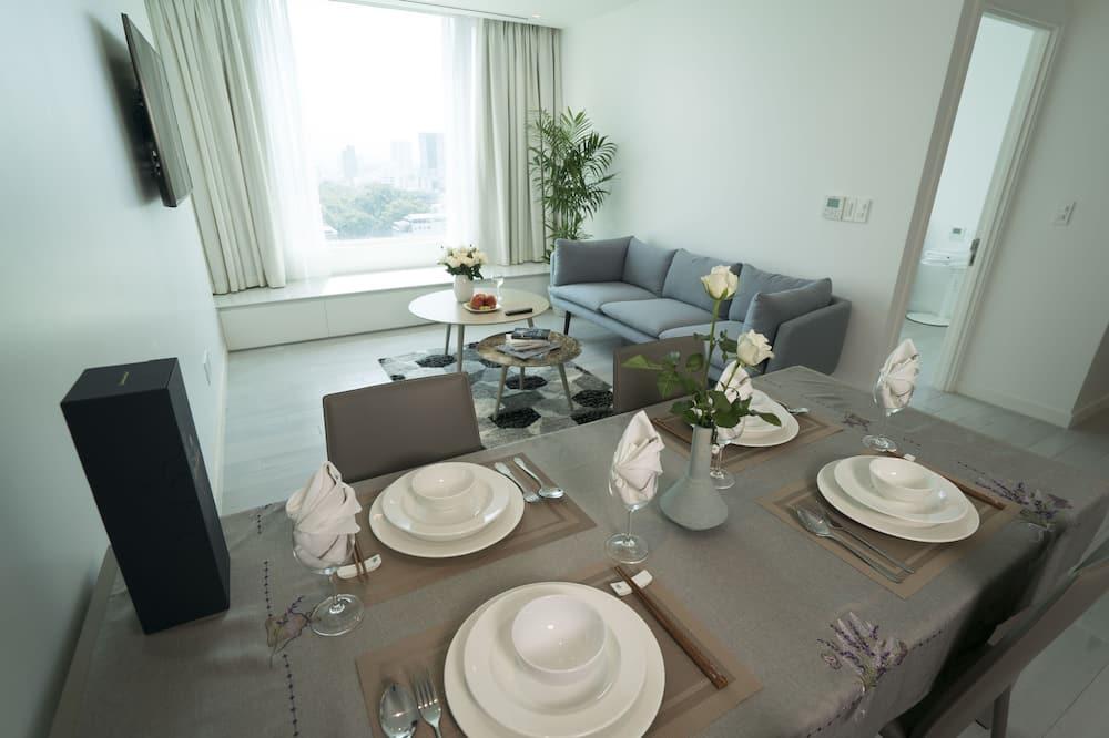 Apartamento Deluxe, 2 habitaciones, baño privado, vistas a la ciudad - Imagen destacada