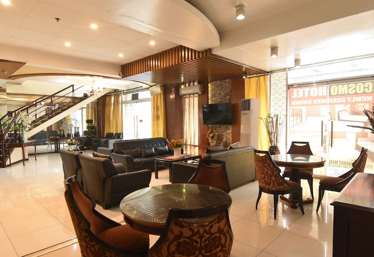 Cosmo Hotel Espana Near UST, Manila, Hotel Lounge
