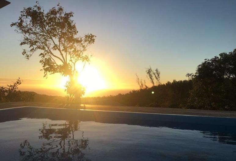 Villa Zourit Rodrigues Bungalow, Đảo Rodrigues, Biệt thự tiện nghi đơn giản, 3 phòng ngủ, Hồ bơi riêng, Hồ bơi riêng