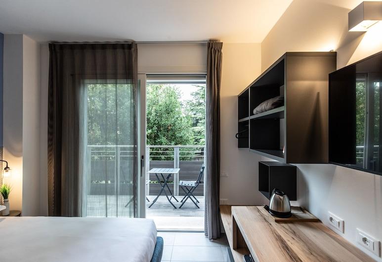 賽加爾達公寓飯店, 佩斯基耶拉戴爾加達, 豪華雙人或雙床房, 無障礙, 客房景觀