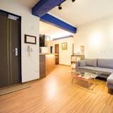 Четырехместный номер базового типа - Зона гостиной