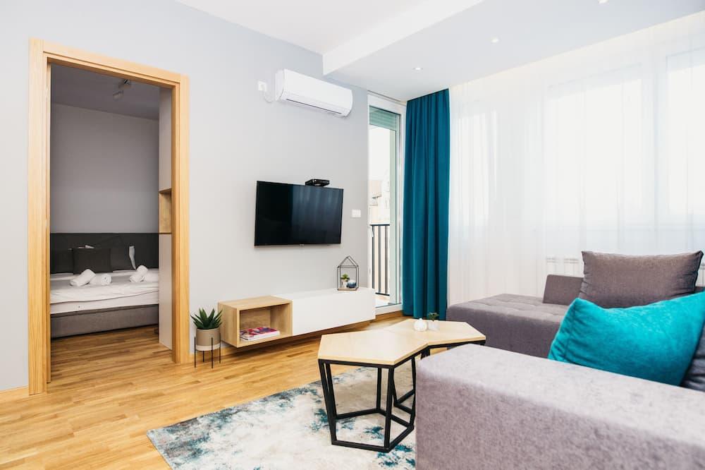 Appartamento, 2 camere da letto (17) - Area soggiorno