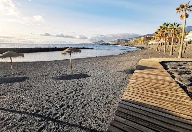 卡莱蒂利亚斯如家海滩及游泳池阳台公寓酒店 - 附无线上网, Candelaria, 海滩
