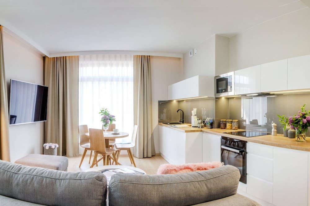 Leilighet – panoramic - Stue
