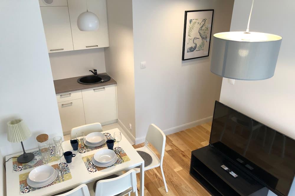 Comfort Apartment, 1 Bedroom, Garden View, Ground Floor - Living Area
