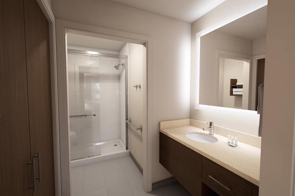Номер, 1 спальня, для людей с ограниченными возможностями (Hearing, Mobility, Bathtub) - Ванная комната