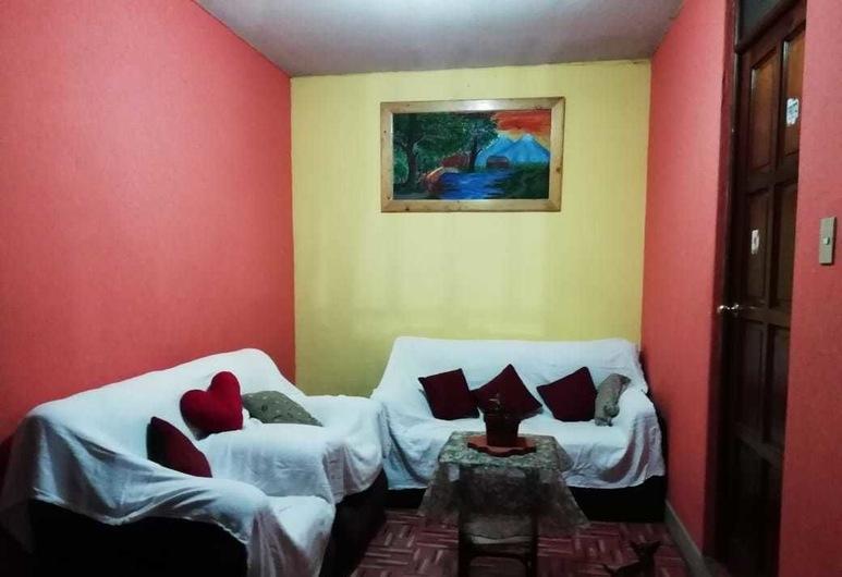 Hotel Sinaloa, Ciudad de Guatemala, Habitación básica con 2 camas individuales, Sala de estar