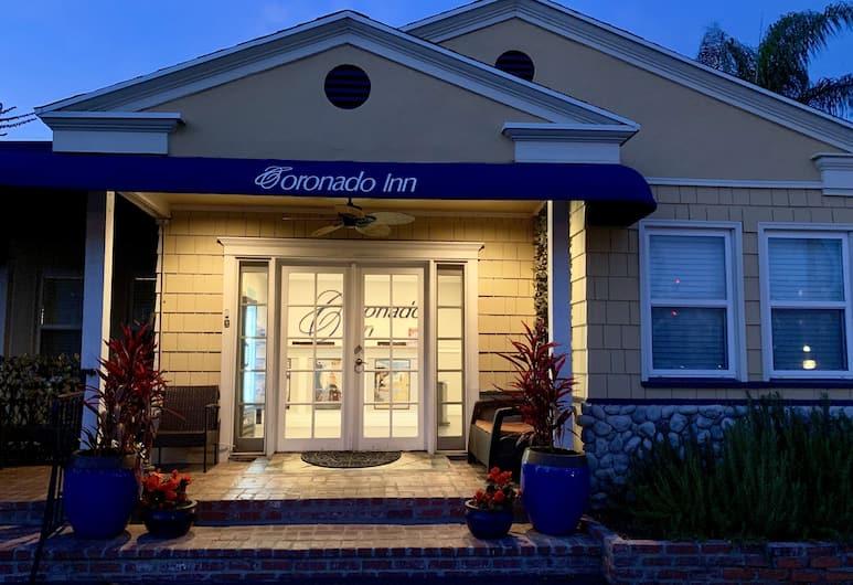 Coronado Inn, Coronado, Hotel Front