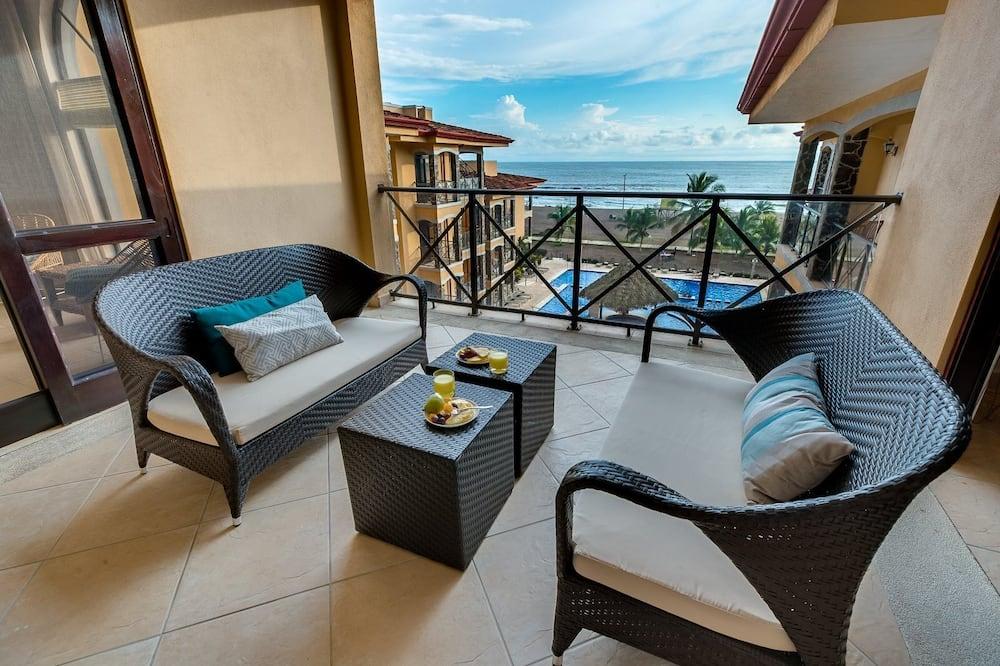 Appartement (Incredible Beach Views in Fantastic C) - Balkon