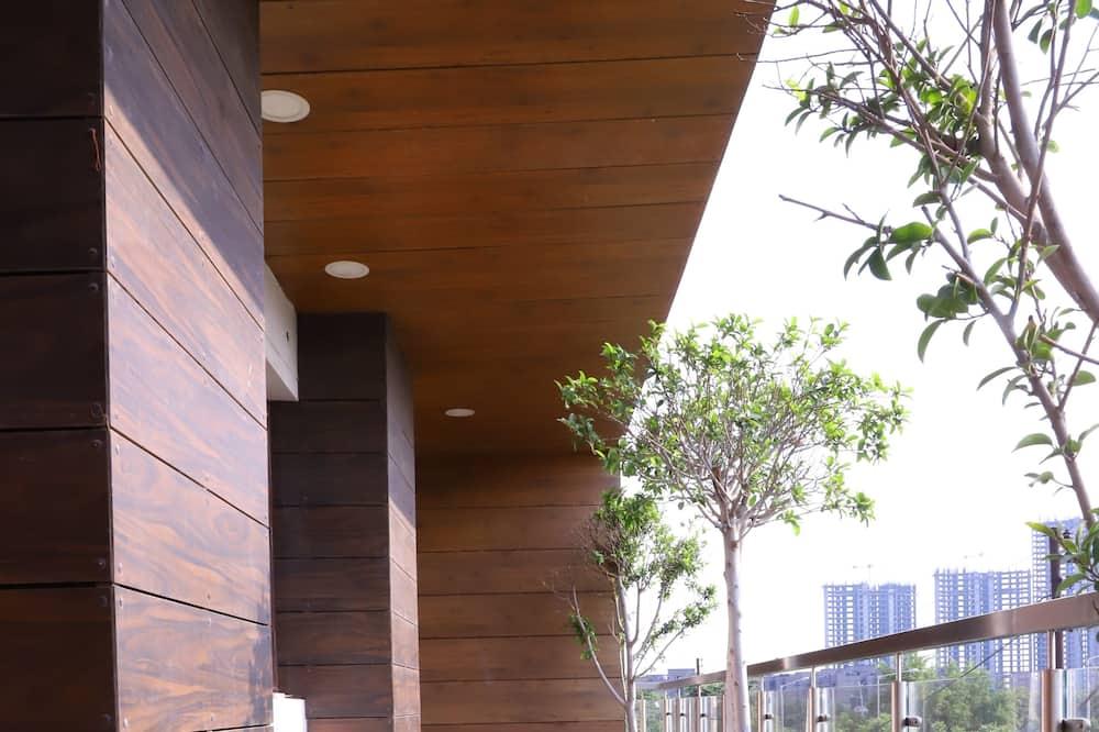 Elite-Studio - Blick vom Balkon