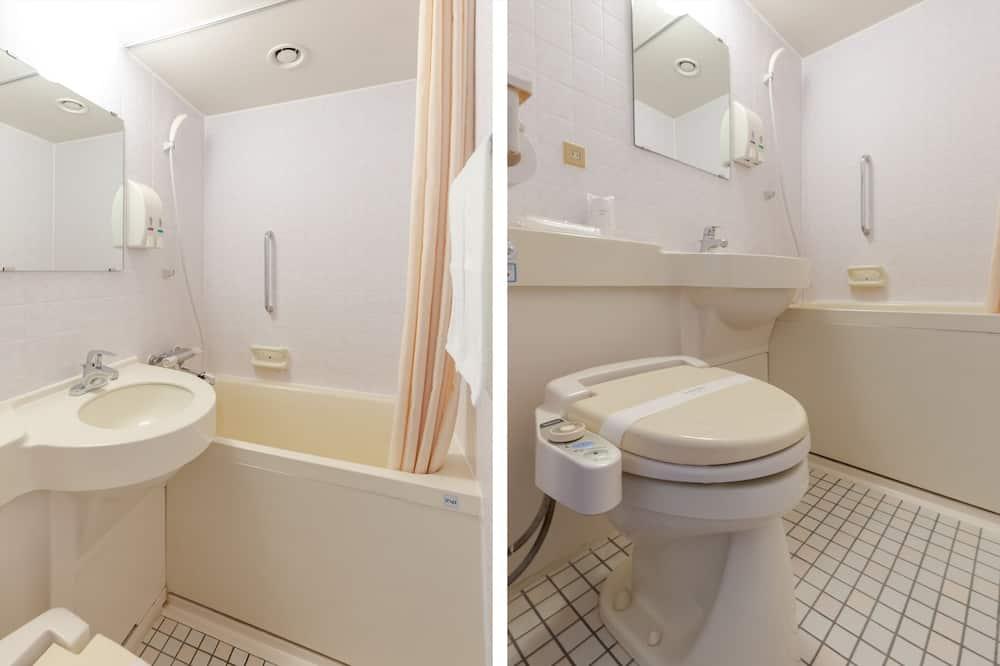 デラックス シングルルーム 喫煙可 - バスルーム