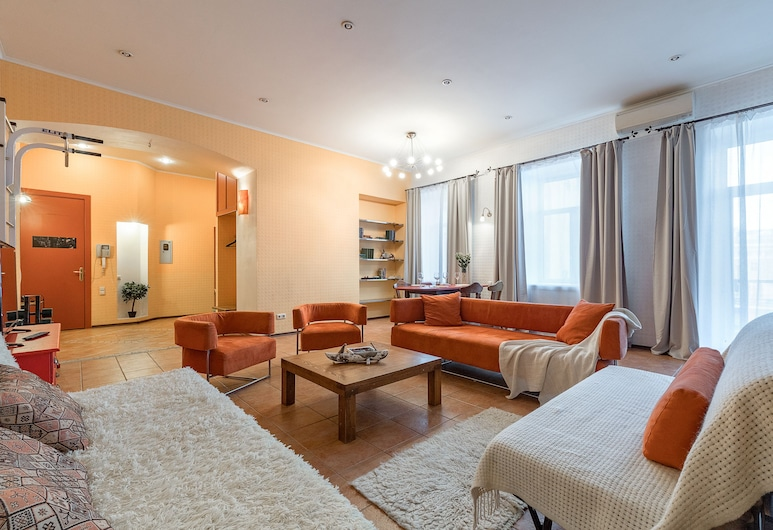Апартаменты Welcome Home, Мойка, 30, Санкт-Петербург, Апартаменты, Зона гостиной