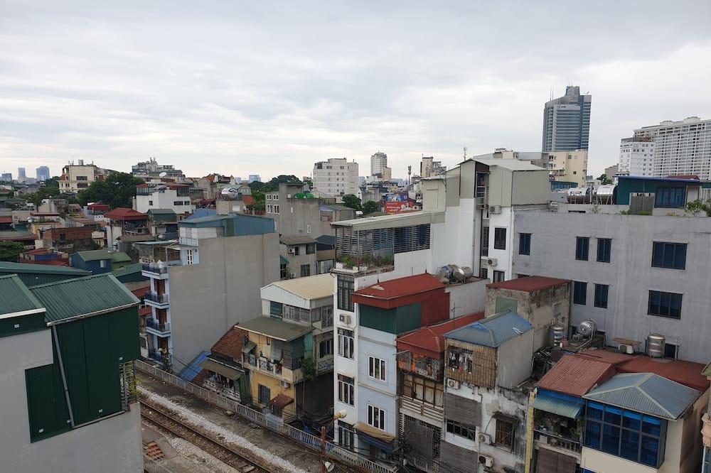 Terrace Double Suite, Balcony - City View
