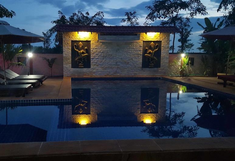 Sun Boutique Resort, Siem Reap, Vonkajší bazén
