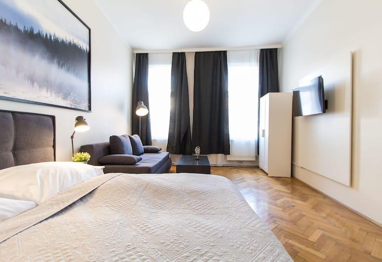 checkVIENNA - Erdbergstrasse, Vienna, Exclusive Apartment, Bilik