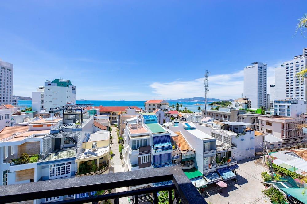Superior-Doppelzimmer - Blick auf die Stadt