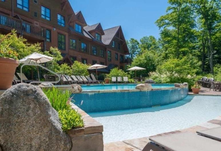 特朗布朗 1510 號晨星艾霍斯特飯店, 特姆布朗特山, 泳池瀑布