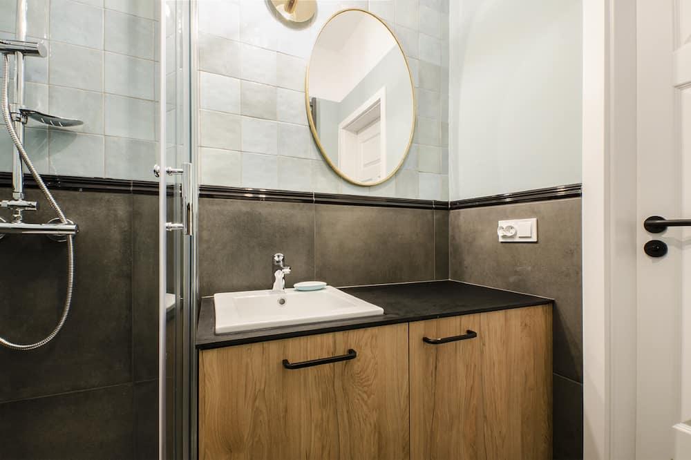 Apartament podstawowy - Łazienka