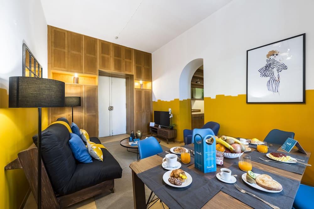 Comfort appartement, 3 slaapkamers (Viale Trastevere 40) - Woonruimte