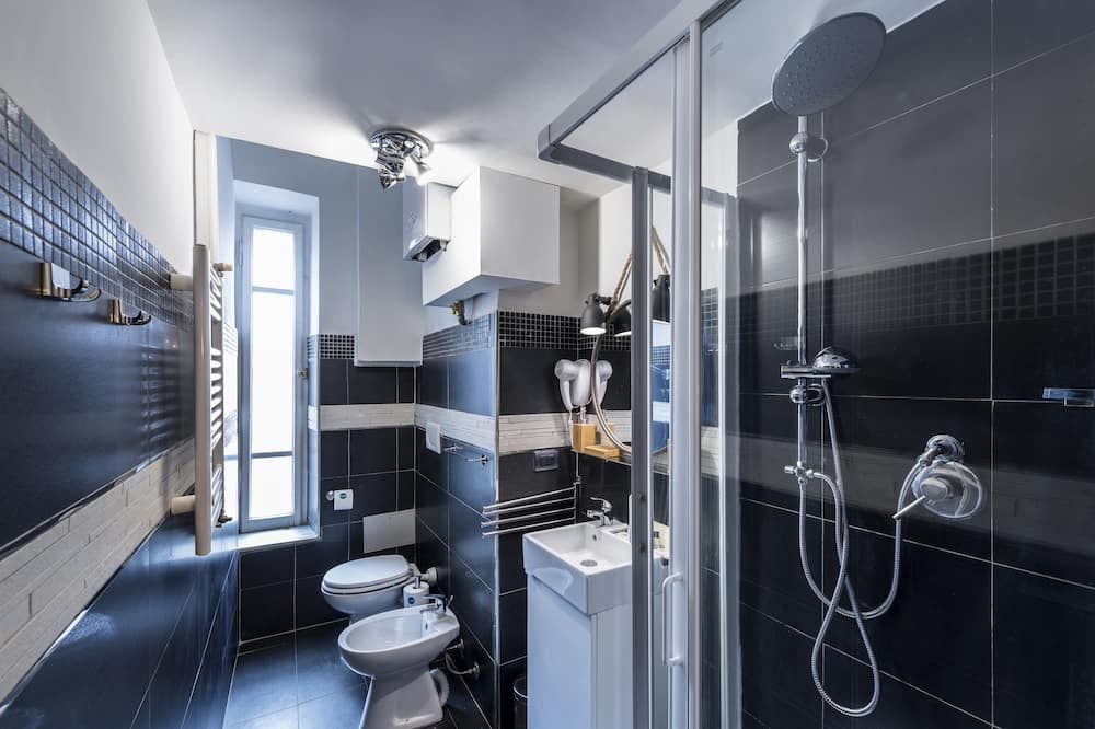 Comfort-Studio (Via dei Fienaroli, 36 Roma) - Badezimmer