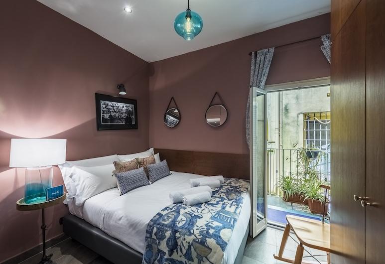 Sweet Inn Fori Imperiali, Rom, City Apartment, 1 Bedroom (Via Cannelle 22), Bilik
