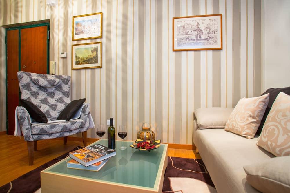 City Apartment, 2 Bedrooms, Kitchenette (Via di Sant'Ambrogio, 7) - Living Area