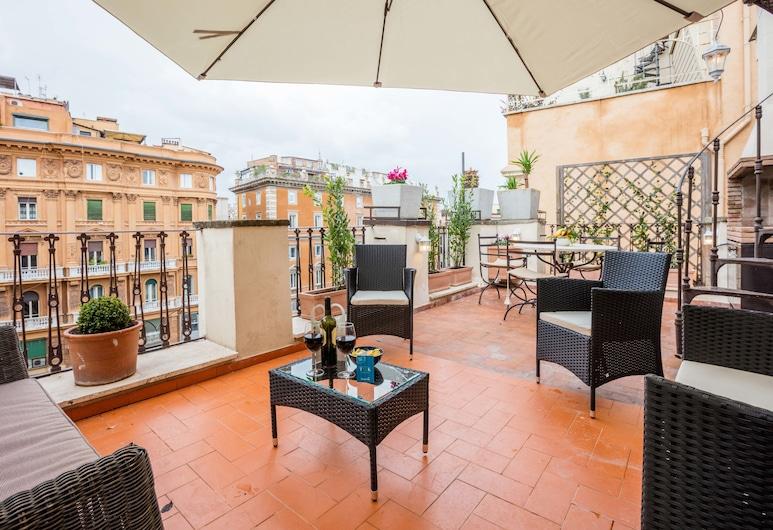 甜蜜旅館 - 鮮花廣場 - 亞倫露拉, 羅馬, 高級公寓, 1 間臥室, 陽台