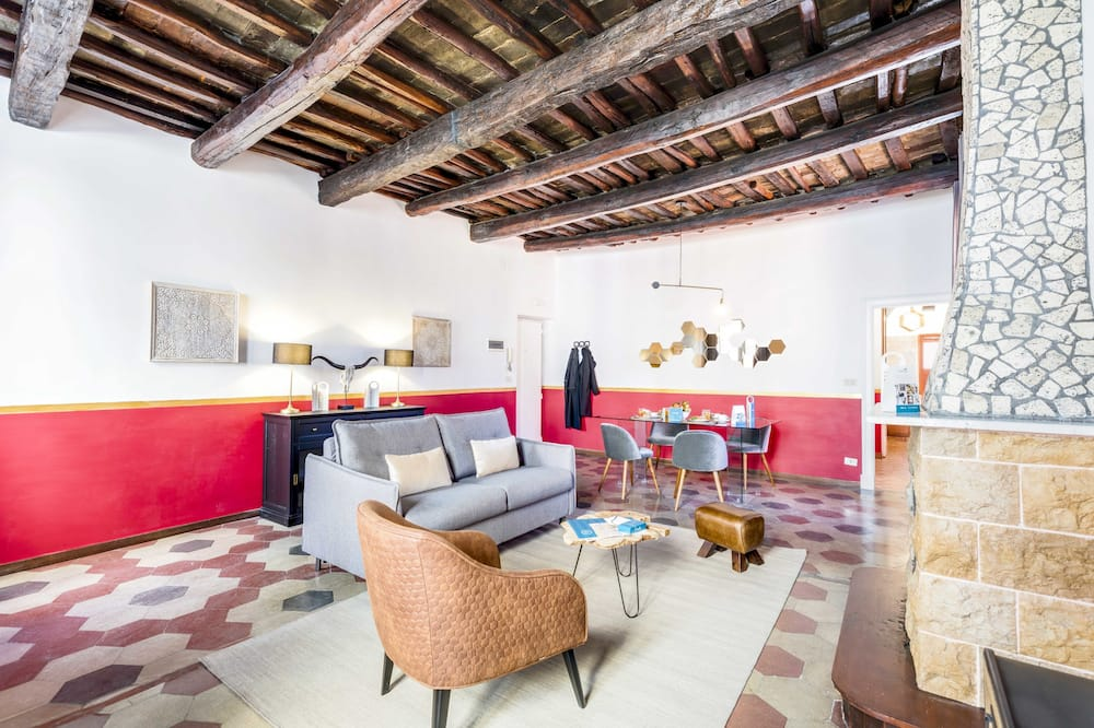 Comfort Apart Daire, 1 Yatak Odası (Via del Coronari 61) - Oturma Alanı