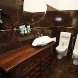 Romantisches Doppelzimmer (Relax) - Badezimmer