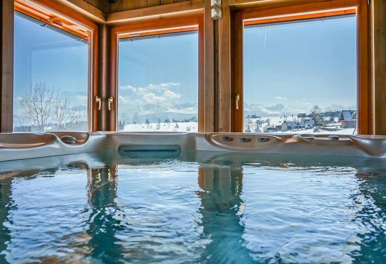 Hotel Redyk Ski&Relax, Poronin, Indoor Spa Tub