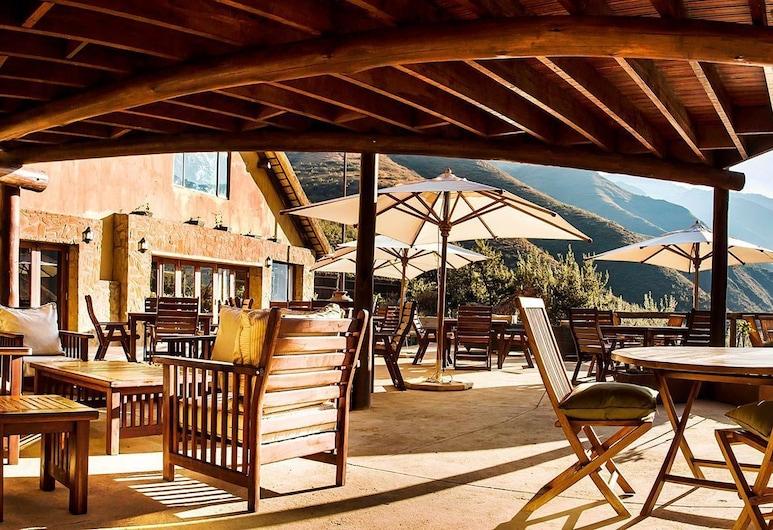 Maliba Lodge, Бута-Буте, Ресторан під відкритим небом