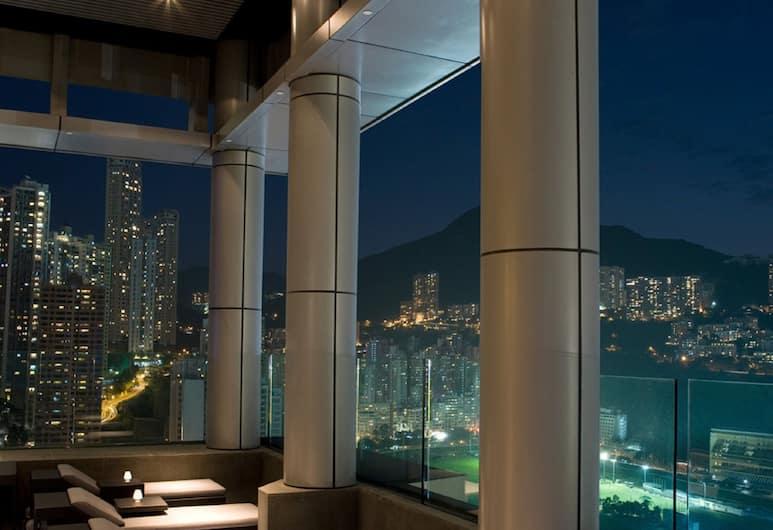크라운 플라자 홍콩 코즈웨이 베이, 홍콩, 테라스/파티오