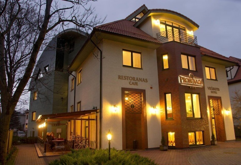 Promenada, Klaipeda, Hotel Front