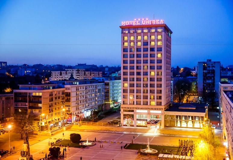 Unirea Hotel & Spa, Iasi, Facciata hotel (sera/notte)