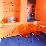 Dobbeltværelse til 1 person - Stue