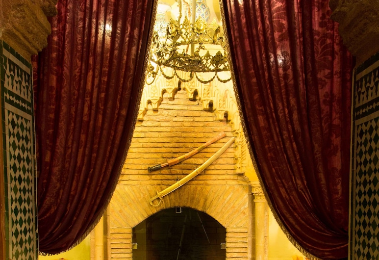 Dar El Kébira, Rabāta, Viesnīcas uzgaidāmā telpa