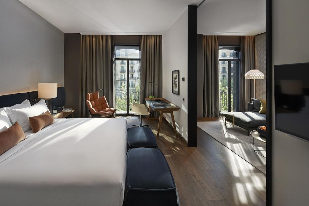 Mandarin Oriental, Barcelona, Barcelona, Deluxe-suite, Gjesterom