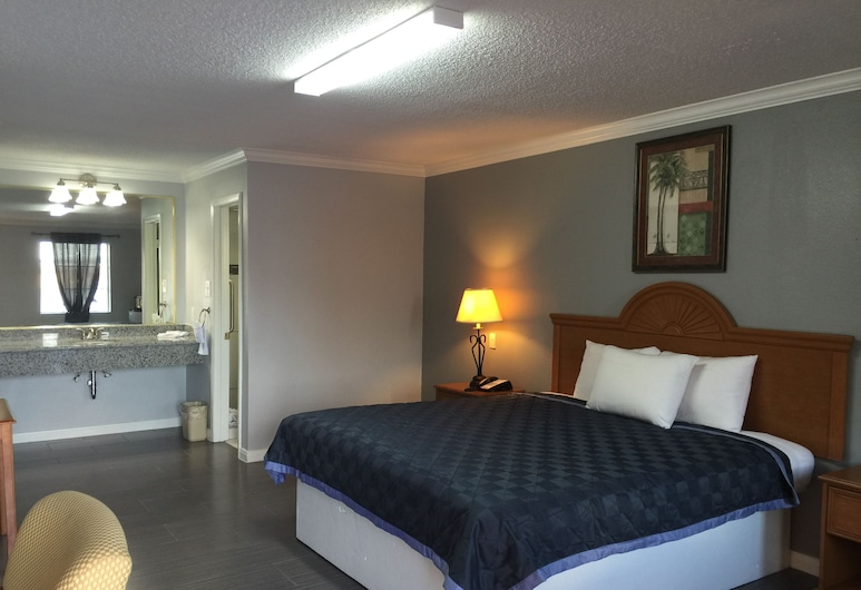 Best Way Inn Houston - Medical Center, Houston, Deluxe Room, 1 King Bed, Non Smoking, Guest Room