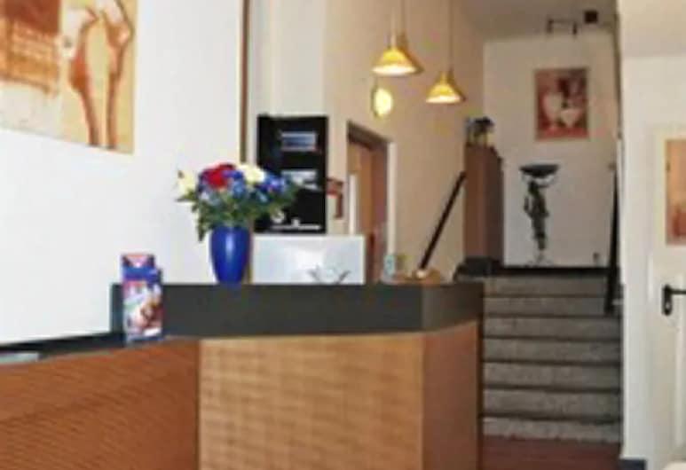 Hotel Lilienhof, Hampuri, Sisäänkäynti