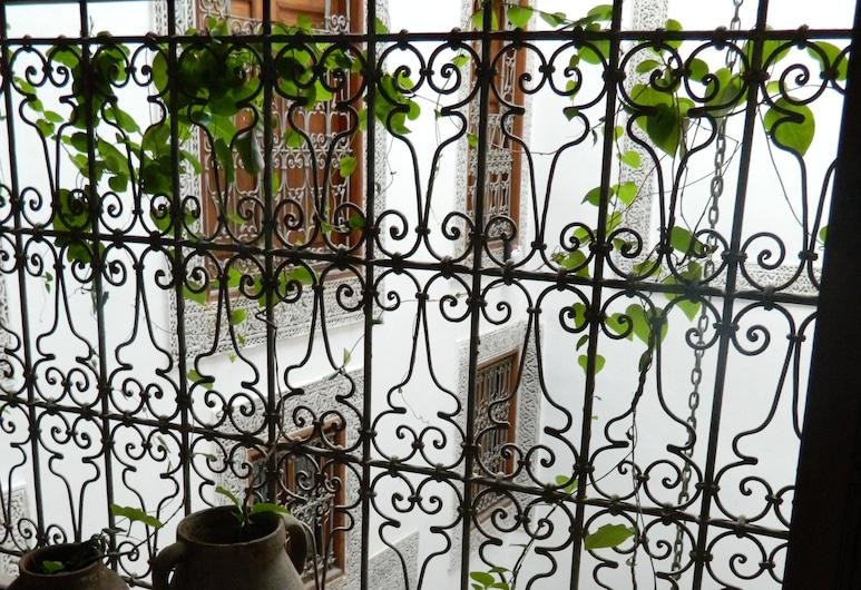 Dar El Menia, Fez, Habitación familiar, baño privado, Balcón