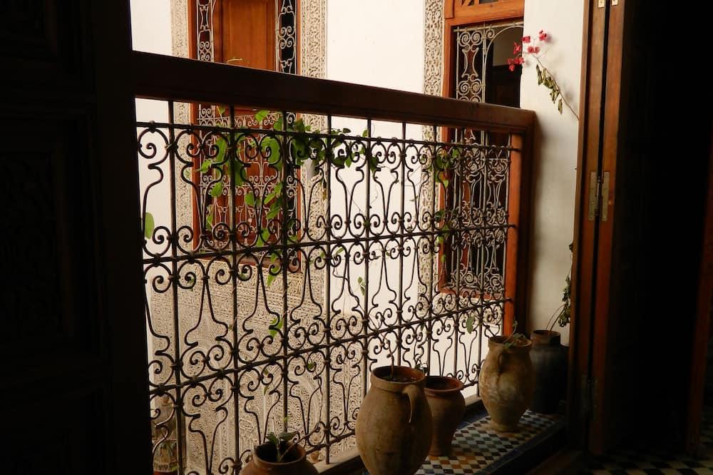 חדר משפחתי, שירותים צמודים - מרפסת