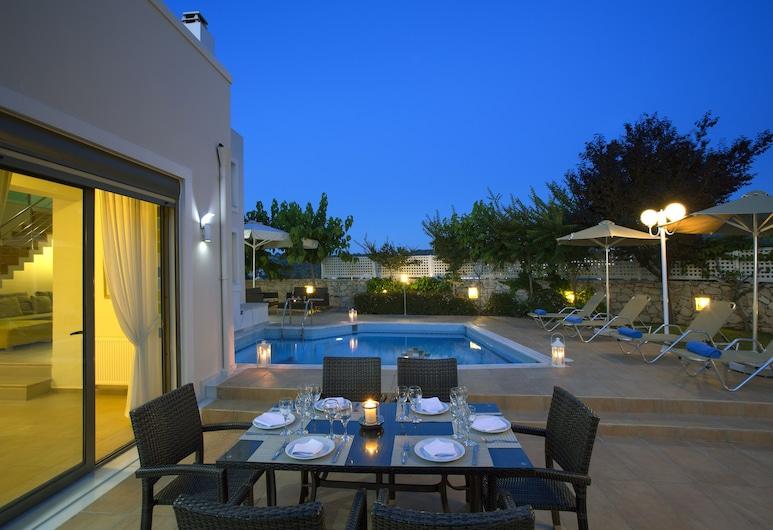 Salvia Villas, Rethymno, Villa - privat pool (Marigo), Terrass