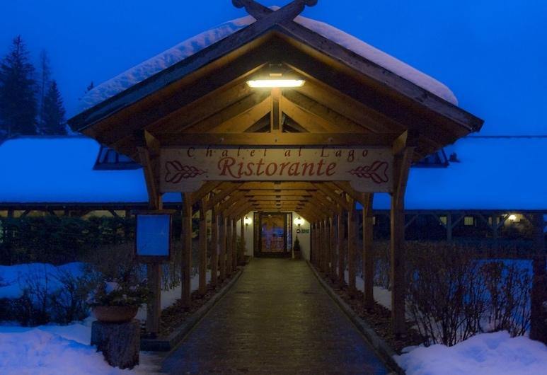 Chalet al Lago, San Vito di Cadore, Lối vào khách sạn