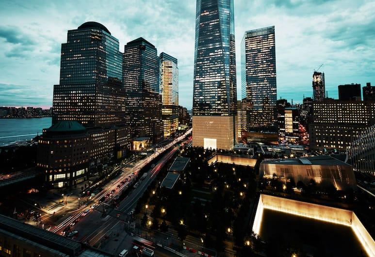 Club Quarters Hotel, World Trade Center, New York, Uitzicht vanaf hotel