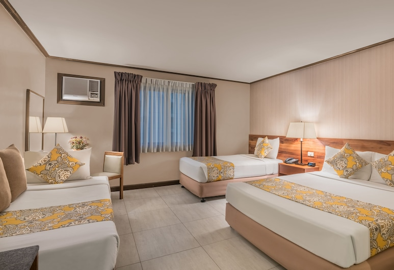 Hotel Kimberly Manila, Manila, Deluxe Quadruple Room (4 Adults Max), Guest Room