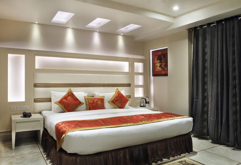 Hotel Hari Piorko, Yeni Delhi, Superior Tek Büyük Yataklı Oda, Oda