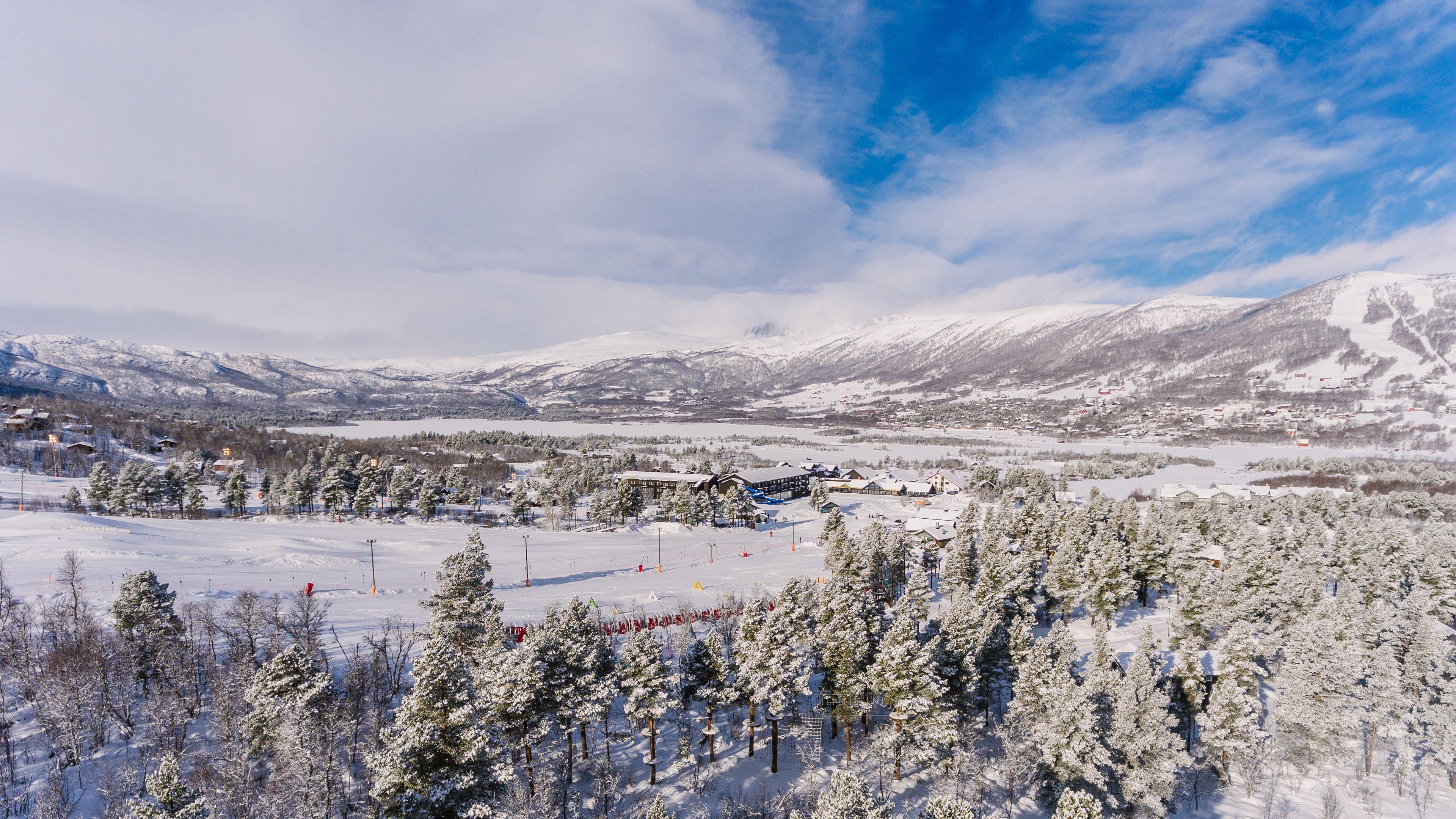 Vestlia Resort, Hol, Utsikt fra hotellet
