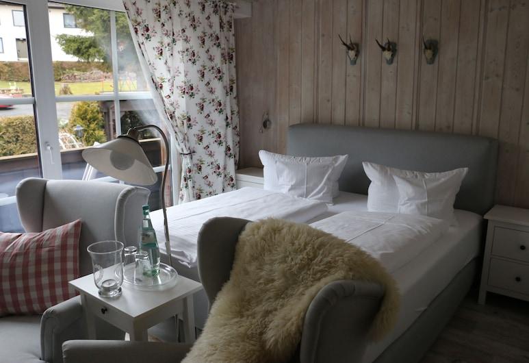Landhaus Foresta, Braunlage, Apartament typu Comfort, 1 sypialnia, widok na góry, Pokój