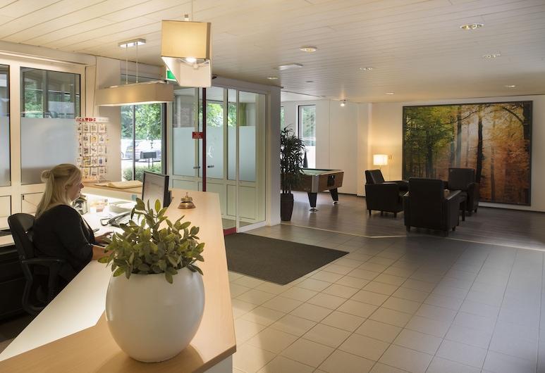 Hotel De Bosrand, Ede, Receptie
